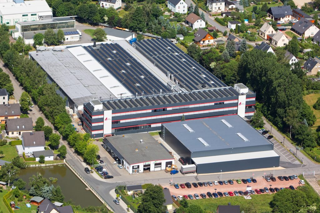 Aalberts surface technologies Zwönitz