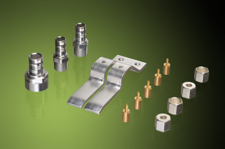 Products with a High Tech Galvanic surface (from left to right Tin, Silver, Gold, Silver)