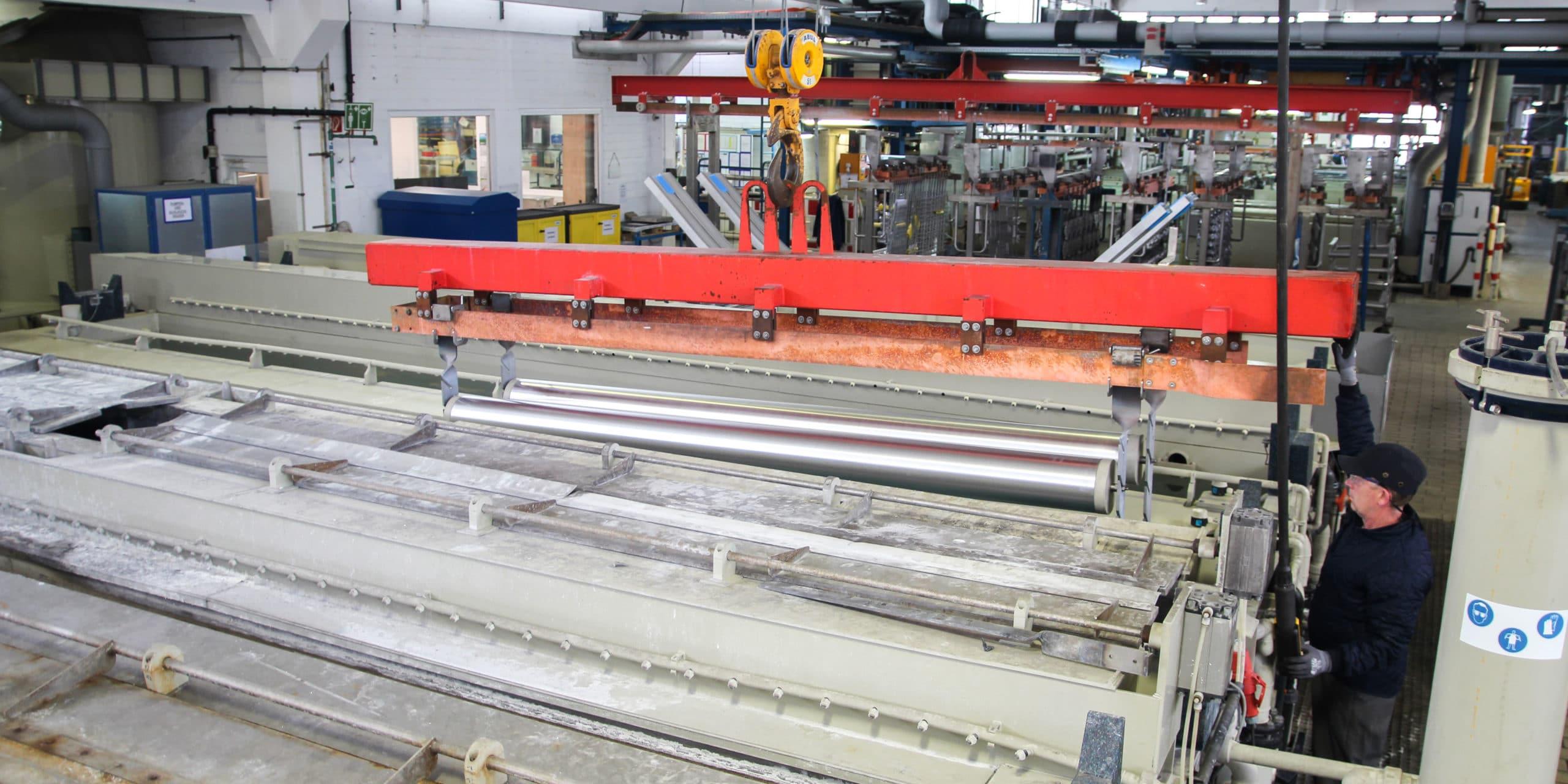 Aalberts surface technologies Kerpen 2 GTA Anlage