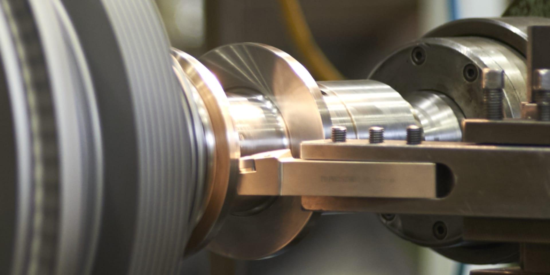 Aalberts surface technologies Moers 3 Mechanische Bearbeitung