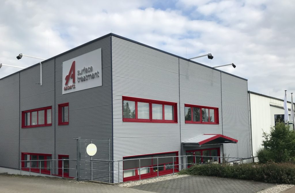 Aalberts surface technologies Obrigheim 1