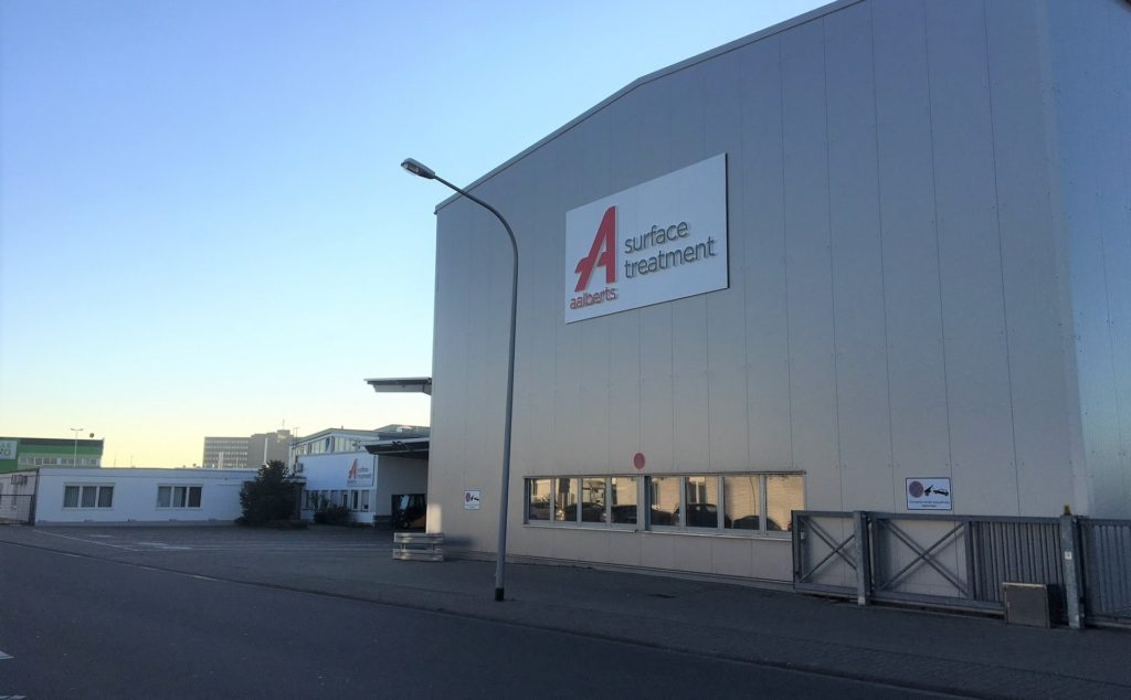 Aalberts surface technologies Weiterstadt