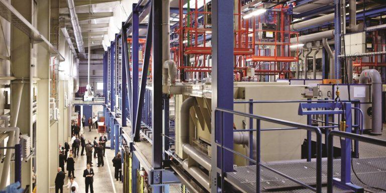 Aalberts surface technologies Weiterstadt 4 DNC Anlage