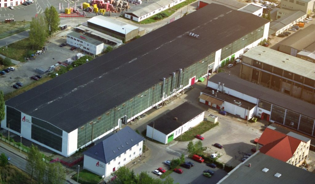 Aalberts surface technologies Zwickau