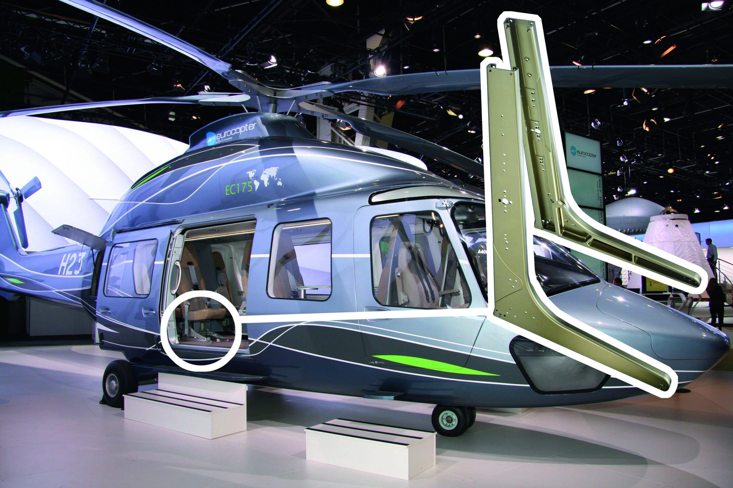 Luft- und Raumfahrt Helikopter
